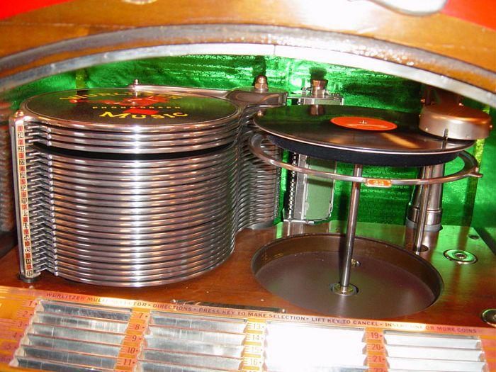 Jukebox lu - Wurlitzer 800